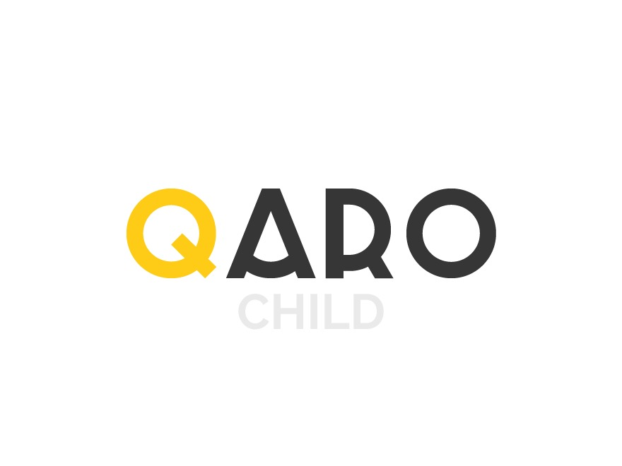 Qaro Child Theme WordPress page template
