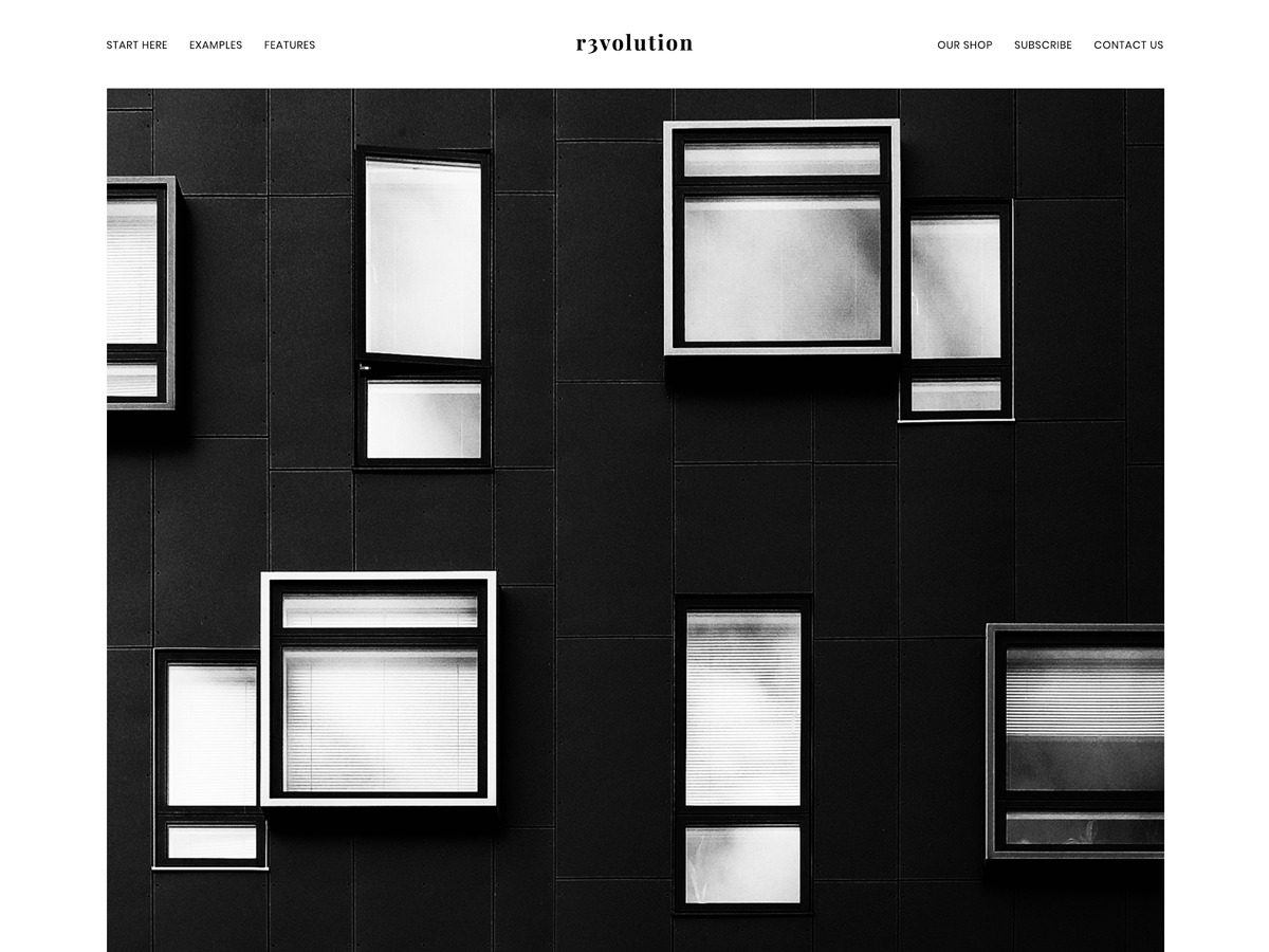 Revolution Pro WordPress news template