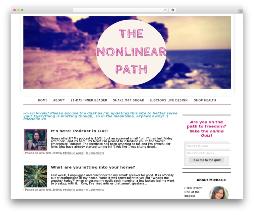 Template WordPress Headway Base - thenonlinearpath.com
