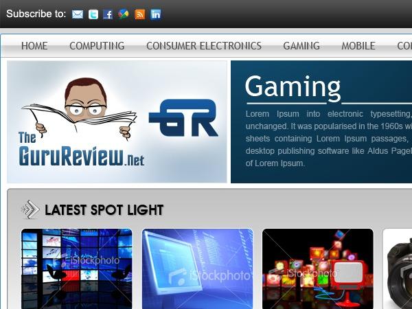TheGuruReview best WordPress theme