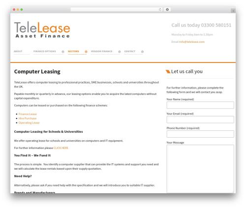 Theme WordPress Salient - telelease.com/asset-finance/computer-leasing