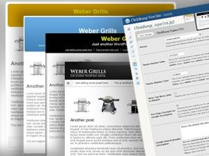 Wide bar WordPress theme