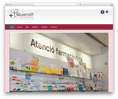 WordPress theme Coller - farmaciaqueralt.com