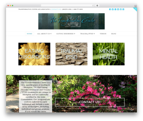 WordPress theme X - transformationmemphis.com