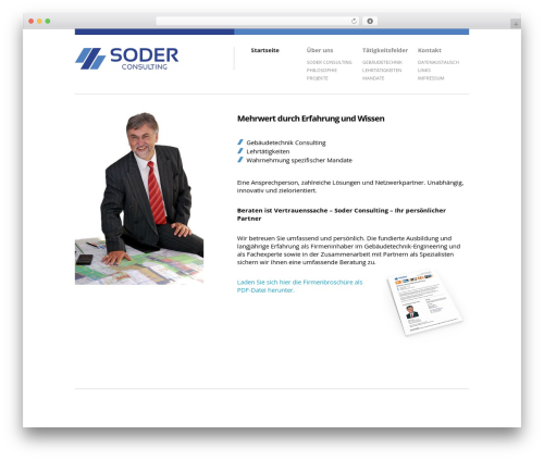 Brandspace theme WordPress - soder-consulting.ch
