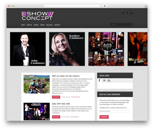 Replay WP theme - stagevisions.com