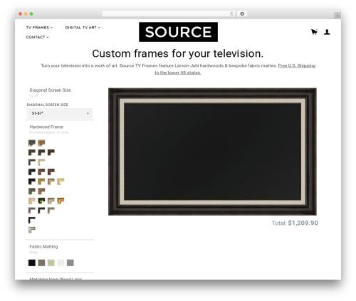 WordPress theme Merchandiser - sourcetvframes.com