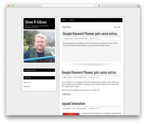 Free WordPress googleCards plugin - stevergibson.com