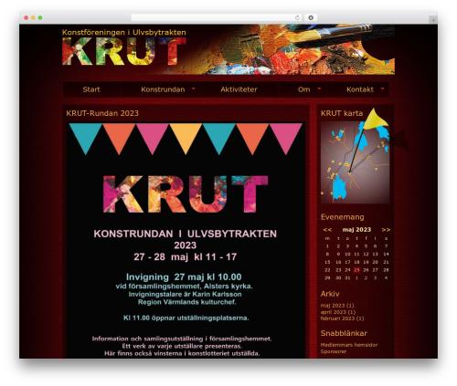 BLANK Theme WordPress theme - krutkonst.se