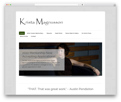 ColorWay WordPress free download - kristamagnusson.com