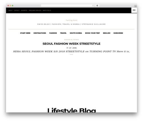 Dashblog premium WordPress theme - sgturningpoint.com