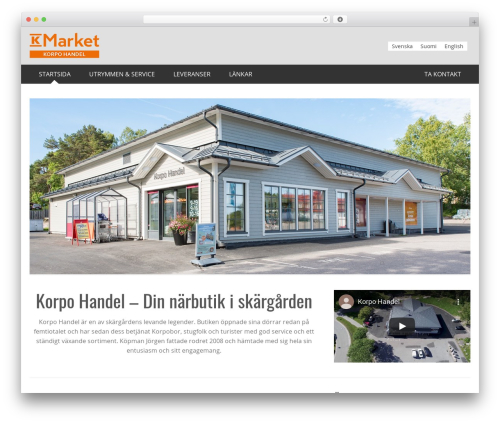 KH WordPress theme - korpohandel.fi