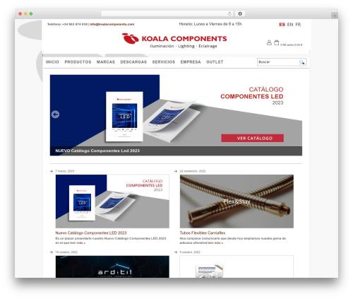 Koala premium WordPress theme - koalacomponents.com