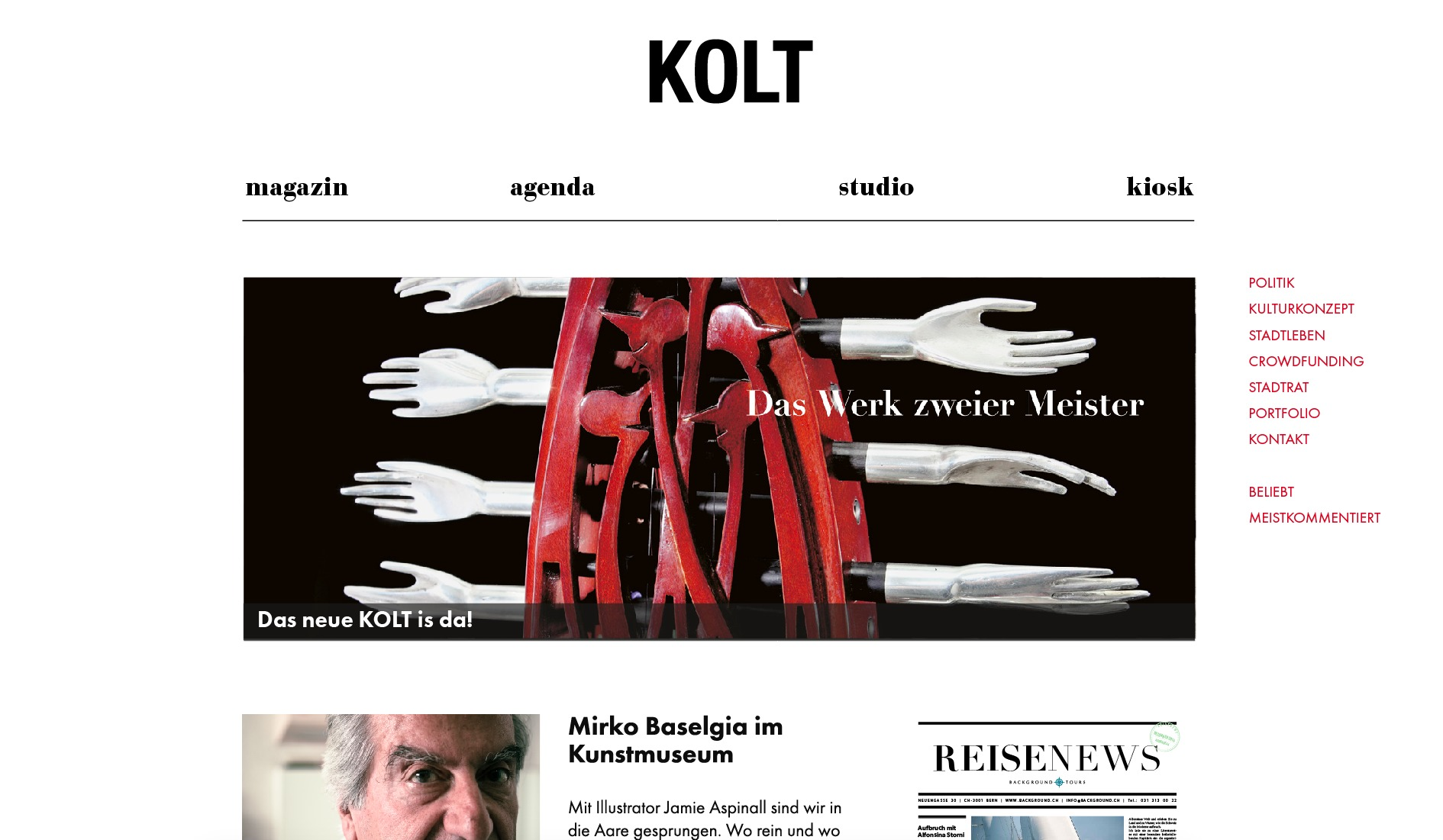 Kolt theme WordPress