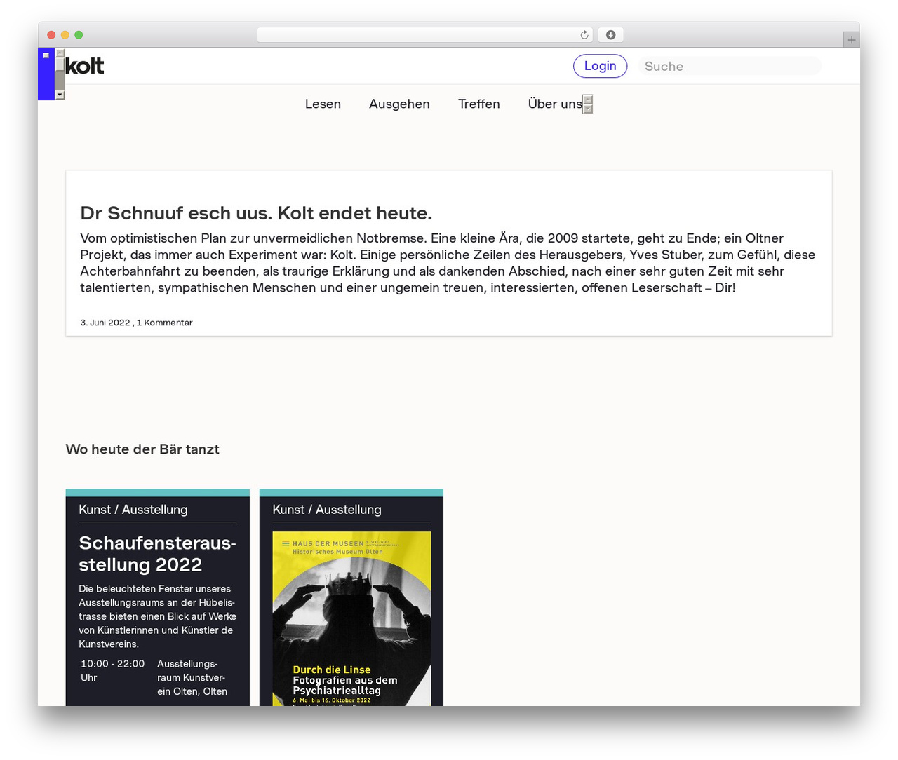 Kolt top WordPress theme - kolt.ch