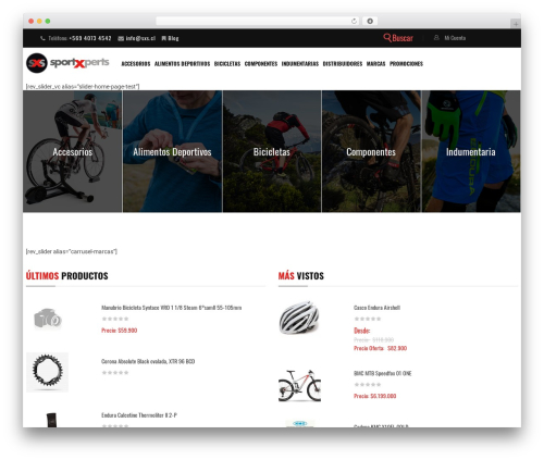 Sportbikes WP theme - sxs.cl