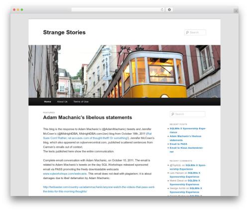 Twenty Eleven template WordPress free - sqlos.com