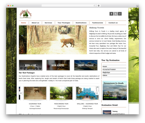 WordPress theme Maya Shop - shillongtravels.com