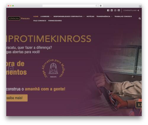 Best WordPress theme TheBuilt - kinross.com.br
