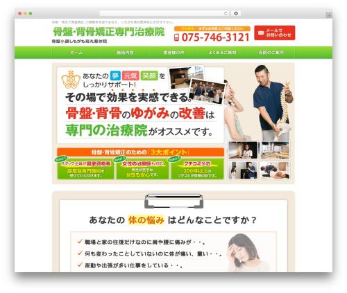 hp-site WordPress theme design - kotubansebone.net