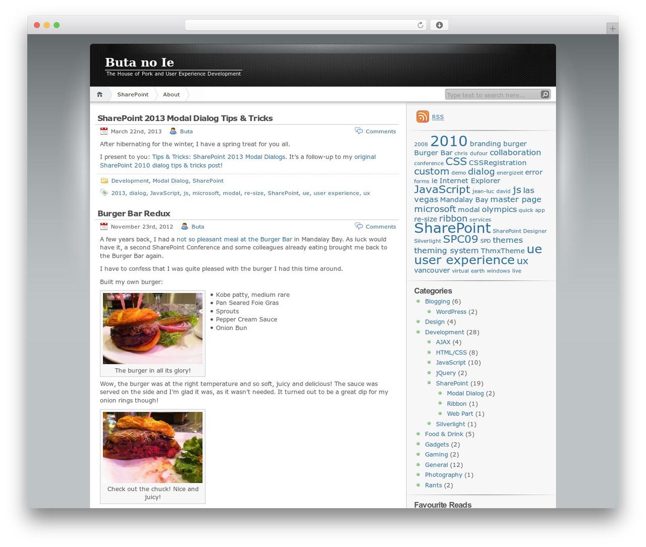 iNove WordPress theme by mg12 - singchan com