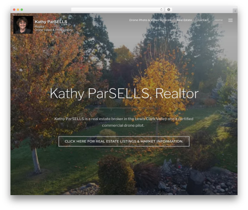 Inspiro WordPress theme - kparsells.com