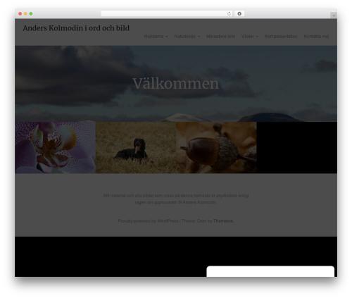 Oren best free WordPress theme - kolmodin.se
