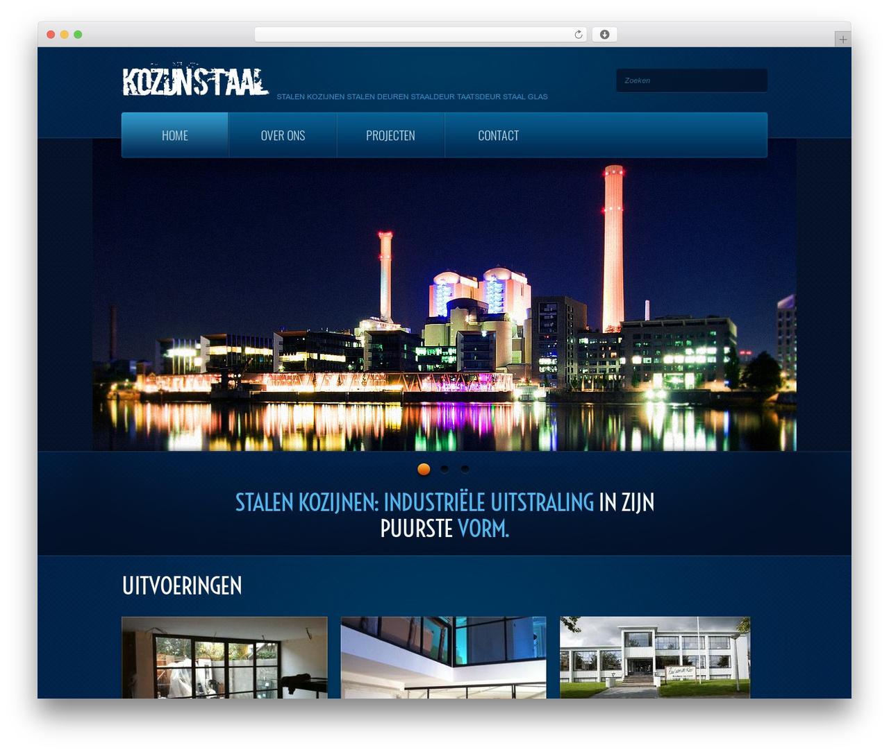 theme1866 best WordPress template - kozijnstaal.com