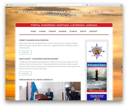 University template WordPress free - kraljica-mora.net