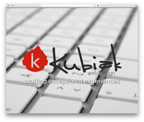 WordPress theme Zoo - kubiakwebdesign.com