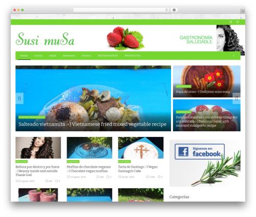 NEUE WP theme - susimusa.com