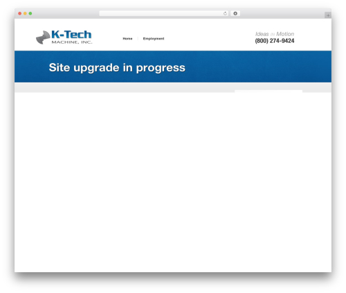 Starkers top WordPress theme - k-techmachine.com