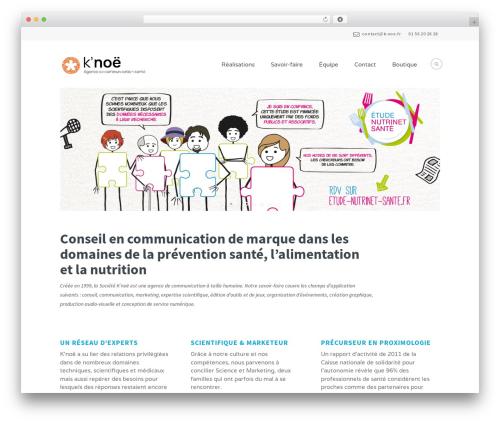 WordPress theme Extent - k-noe.fr