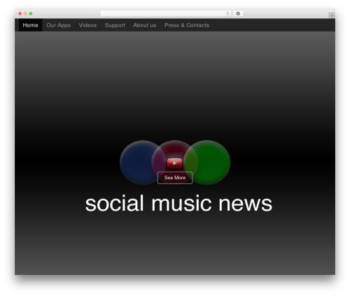 WP theme Arcade Basic - socialmusicnews.com