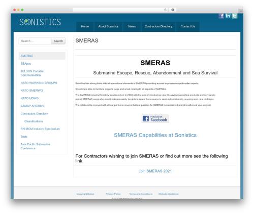 Bootstrap Basic free website theme - sonistics.com/smeras