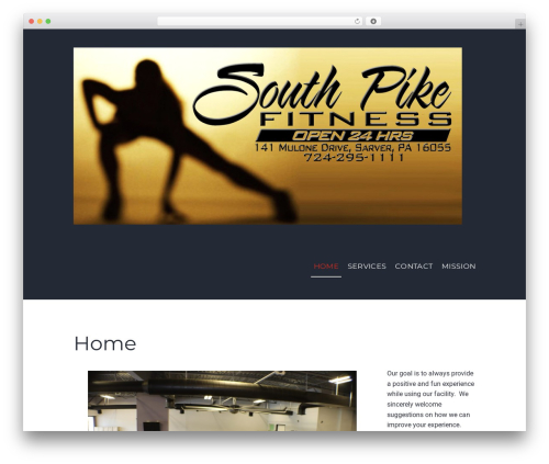 Gym Express WordPress theme - southpikefitness.com