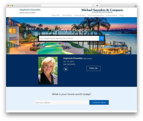 Residential - Theme 1 WordPress theme - stephaniekitsemble.com