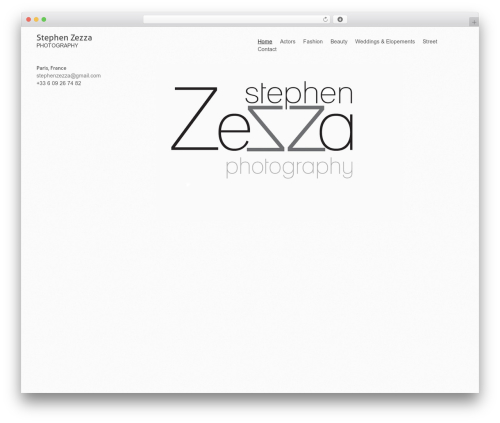 WP theme Fiona - stephenzezza.com