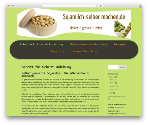 DI Basis 2.7.3 premium WordPress theme - sojamilch-selber-machen.de