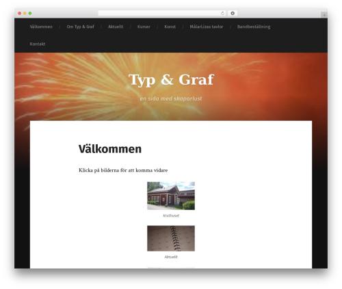Garfunkel template WordPress free - skaparlusthuset.se/wp