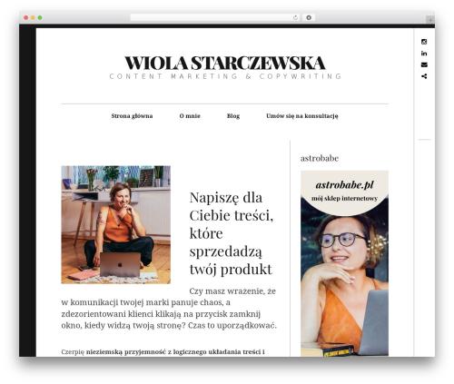 Hive WordPress template - starczewska.com