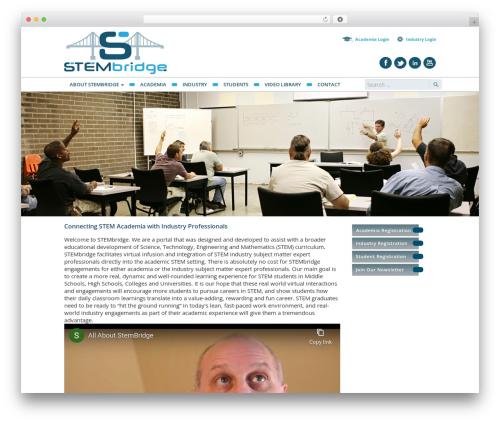 WordPress theme VLM - stembridgeusa.com