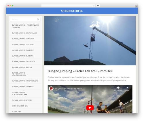 WP template Tatami - sprungteufel.de