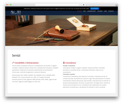 Agora premium WordPress theme - studioagorasrl.it