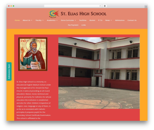 Divi best WordPress theme - steliashighschool.org