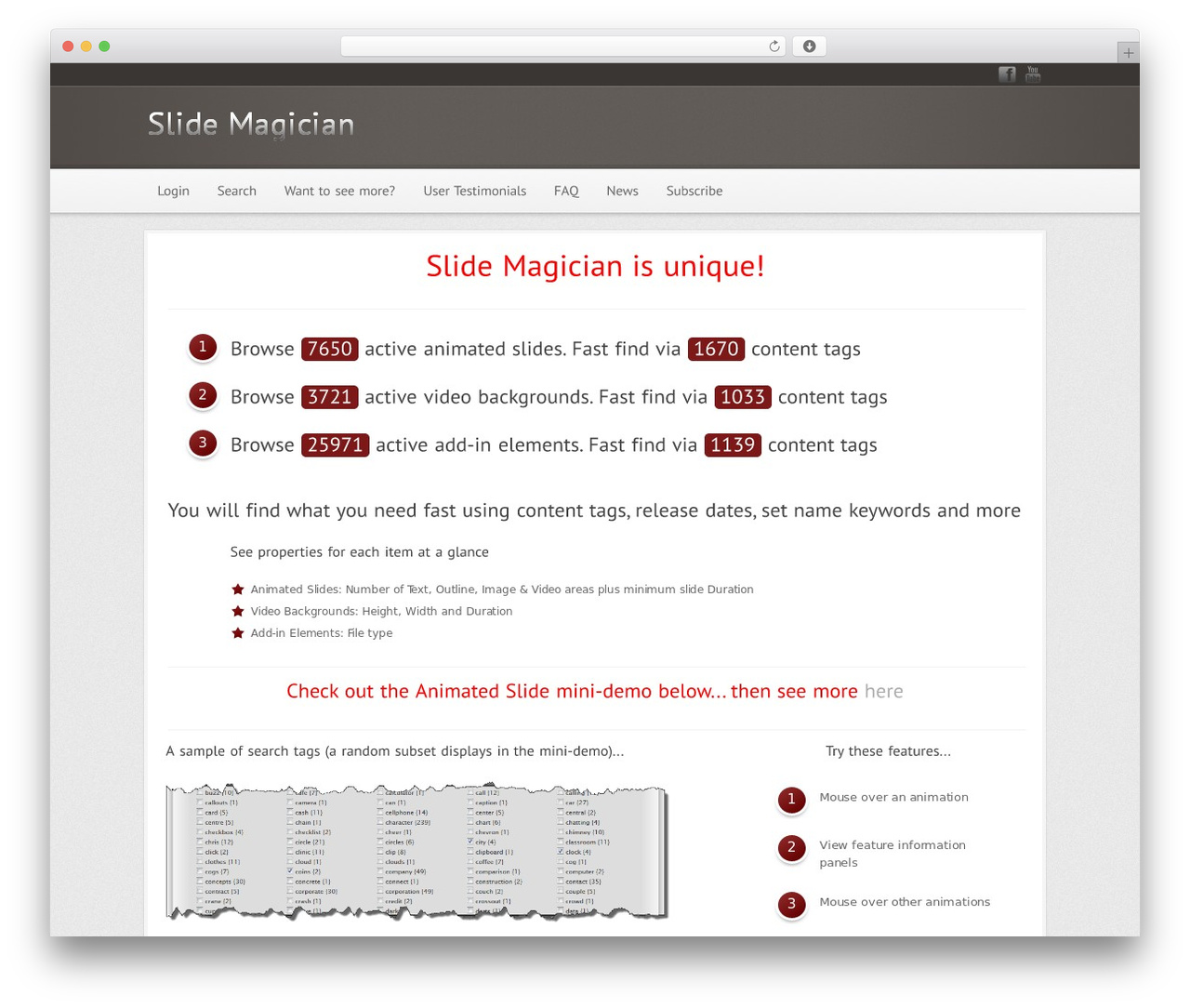 Modular WP template - slidemagician.com