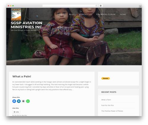 Theme WordPress Enliven Pro - sgsp-mission.org