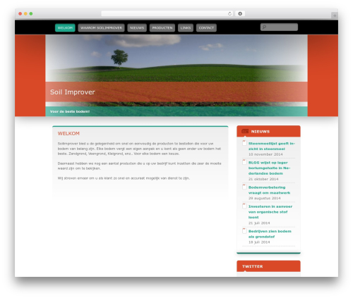 WordPress template Wallpapered - soilimprover.nl