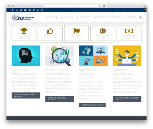 WordPress theme Avada - sismarketresearch.com