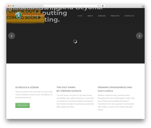 Best WordPress theme Tower - stephenaumockgolf.com